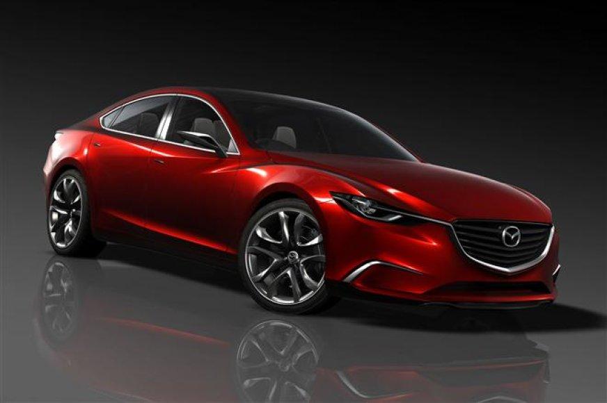 """""""Mazda Takeri"""" koncepcija"""