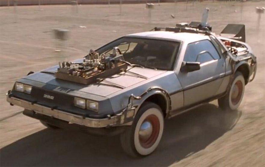 """Originalus """"Atgal į ateitį"""" """"DeLorean DMC-12"""""""