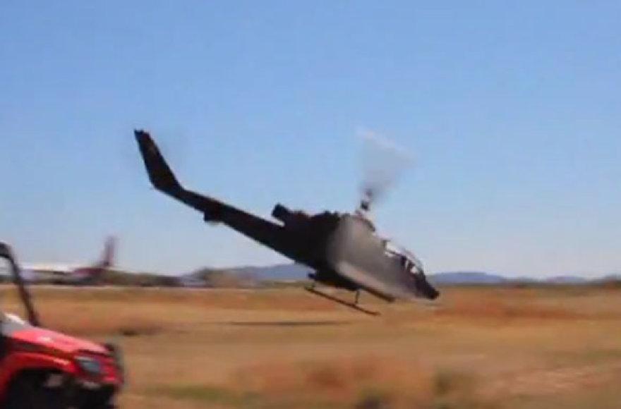 Sraigtasparnio avarija