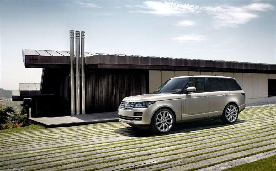 """Naujasis """"Range Rover"""""""