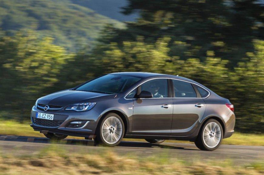 """Opel Astra Sedan"""