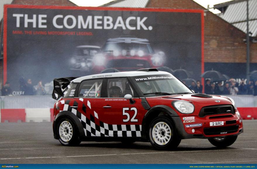 """""""MINI Countryman John Cooper Works WRC"""""""