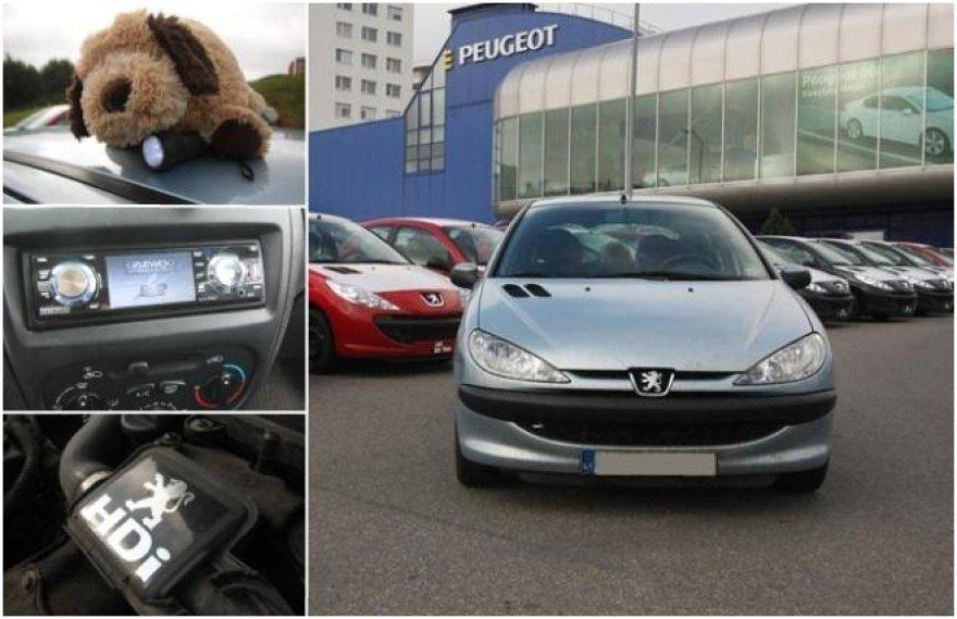 "Garažas: Gedimino ""Peugeot 206"""