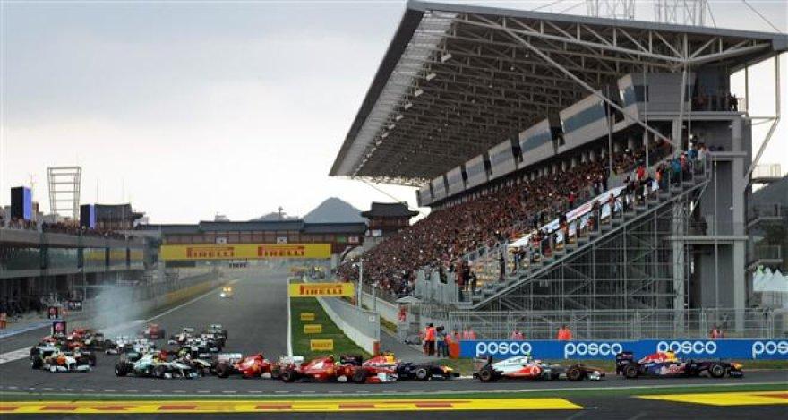 """""""Formulės-1"""" Korėjos GP lenktynės"""