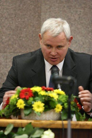 V.Grubliauskas meru išrinktas prieš savaitę, balandžio 12 dieną.