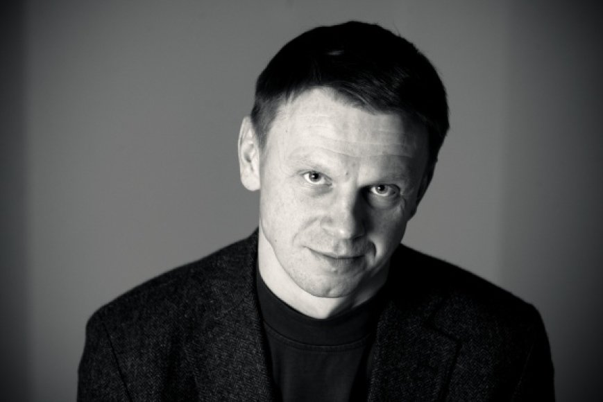 Aktorius Rolandas Kazlas.