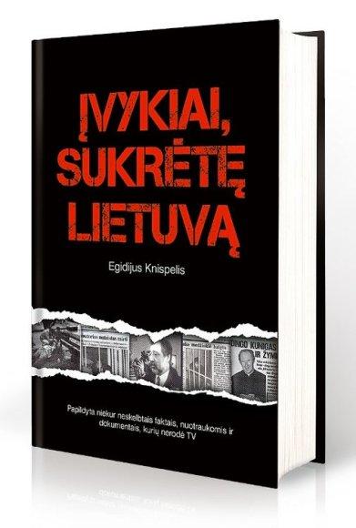 """Knygos """"Įvykiai, sukrėtę Lietuvą"""" viršelis"""