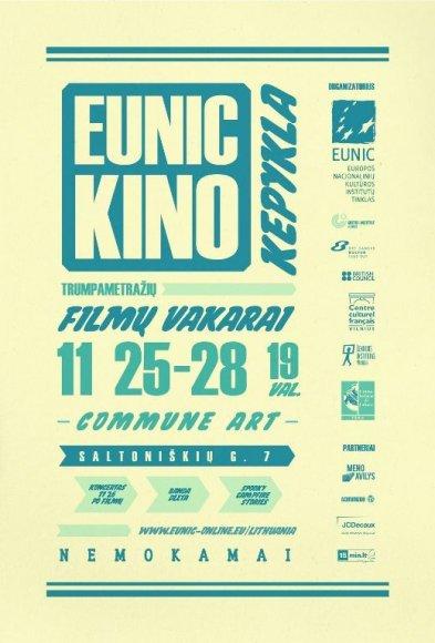 EUNIC plakatas