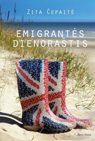 """Knygos """"Emigrantės dienoraštis"""" viršelis"""