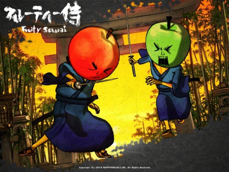 """""""Vaisių samurajus"""""""