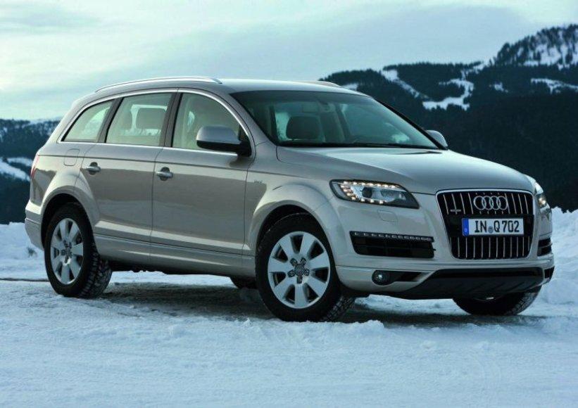 """""""Audi Q7"""" visureigiui – trys nauji varikliai"""