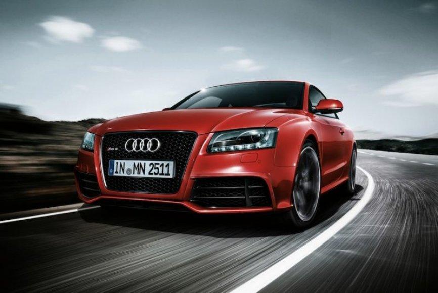 """""""Audi RS5"""" – pirmosios nuotraukos"""