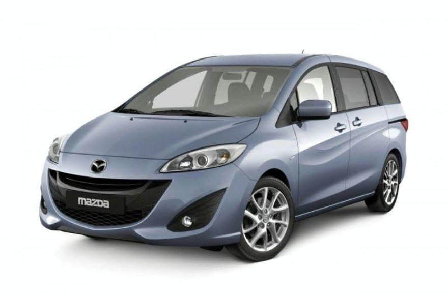 """Naujasis """"Mazda 5"""" bus panašus į savo brolius"""