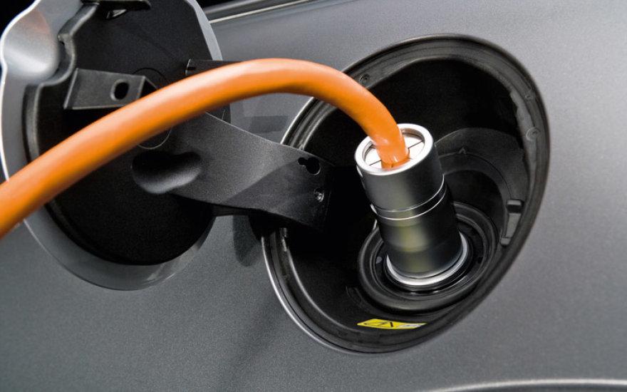 Elektromobiliai kelia problemų žiemą