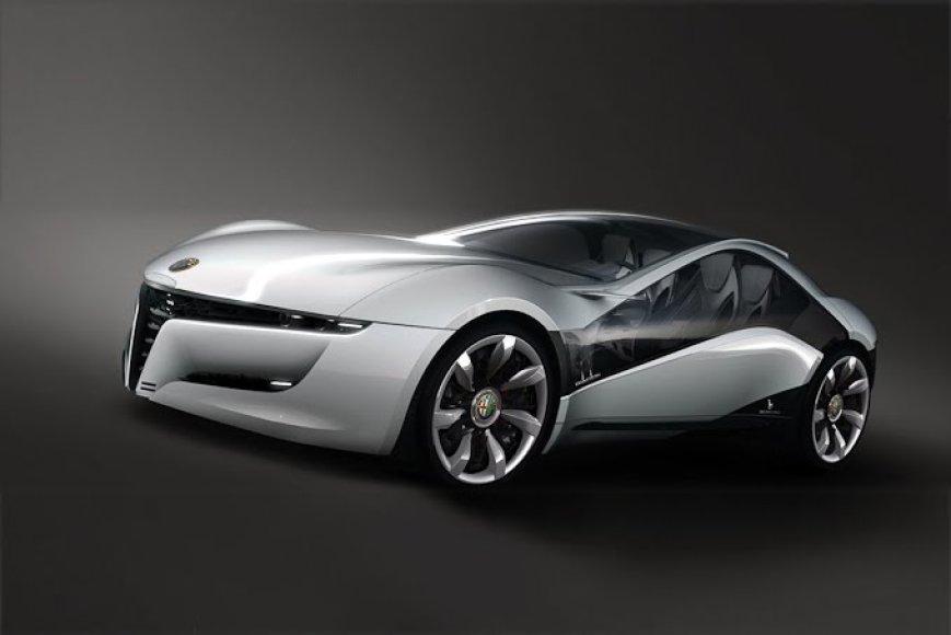 """""""Alfa Romeo Pandion"""" koncepcija – pirmieji kadrai"""