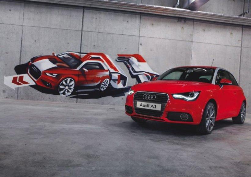 """""""Audi A1"""" – sportiškiausias ir prabangiausias klasėje"""