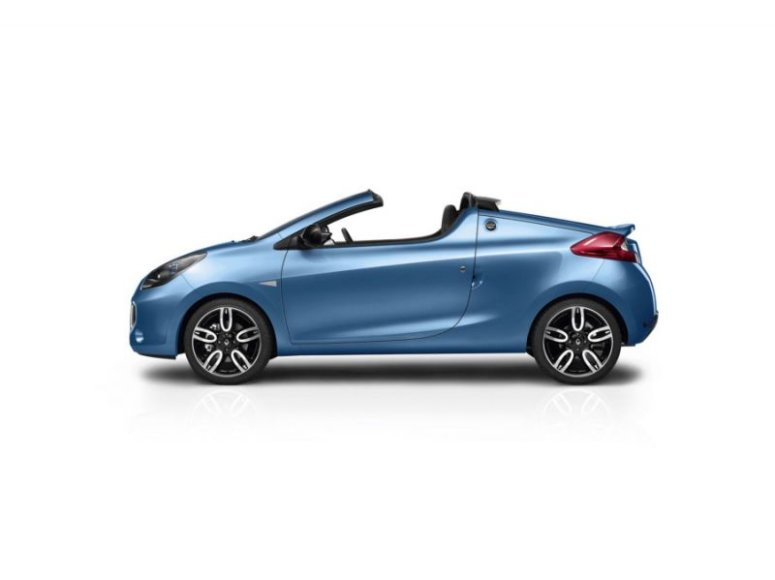 """Renault Wind"" – dvivietis kabrioletas"
