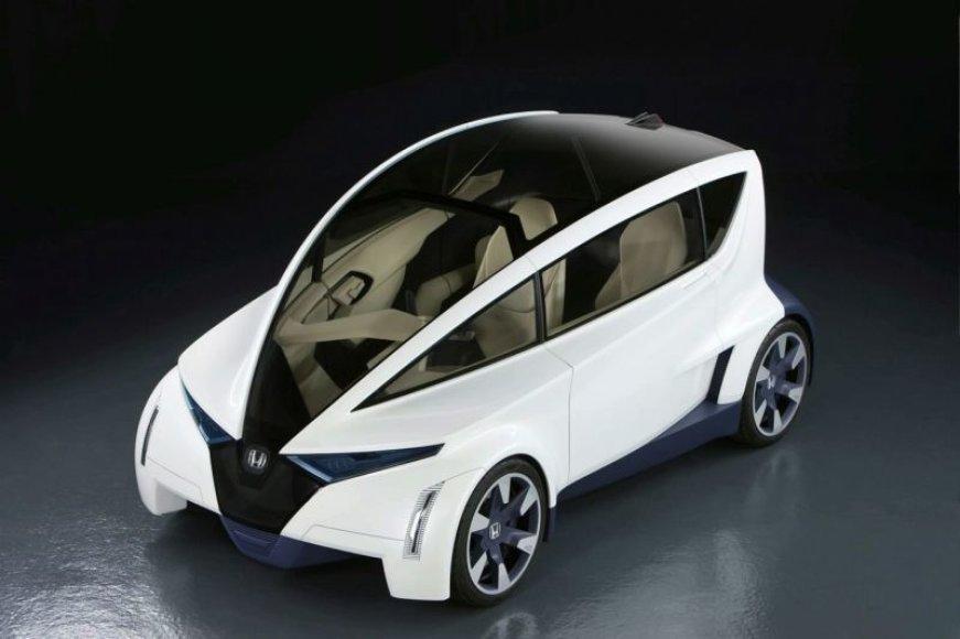 """""""Honda P-NUT"""" koncepcija – ateities miesto gyventoja"""