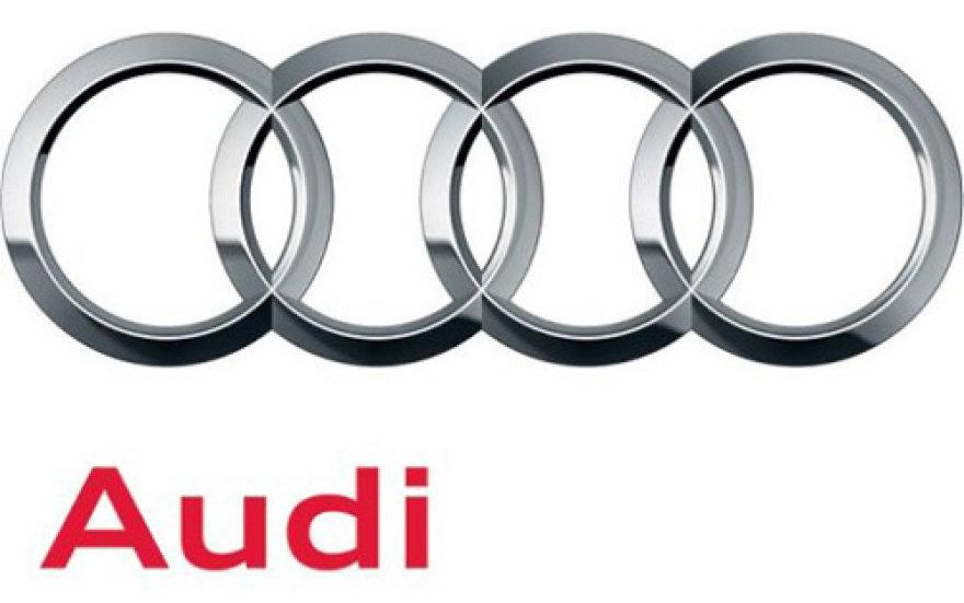 """""""Audi"""" atnaujino prekinį ženklą"""