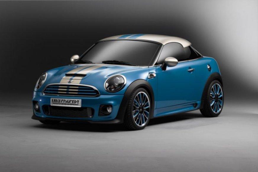 """Mini Coupe"" koncepcija – penkiasdešimtmečio proga"