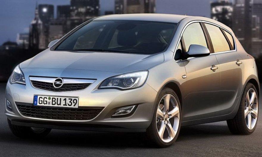 "Naujoji ""Opel Astra"" – premjeros belaukiant"