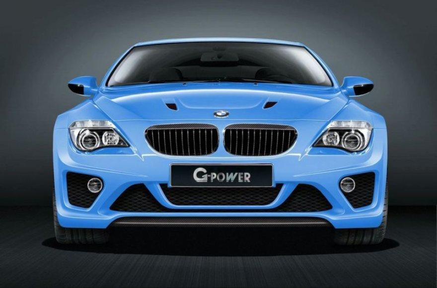 """""""G-Power M6 Hurricane CS"""" – greičiausias patobulintas BMW?"""