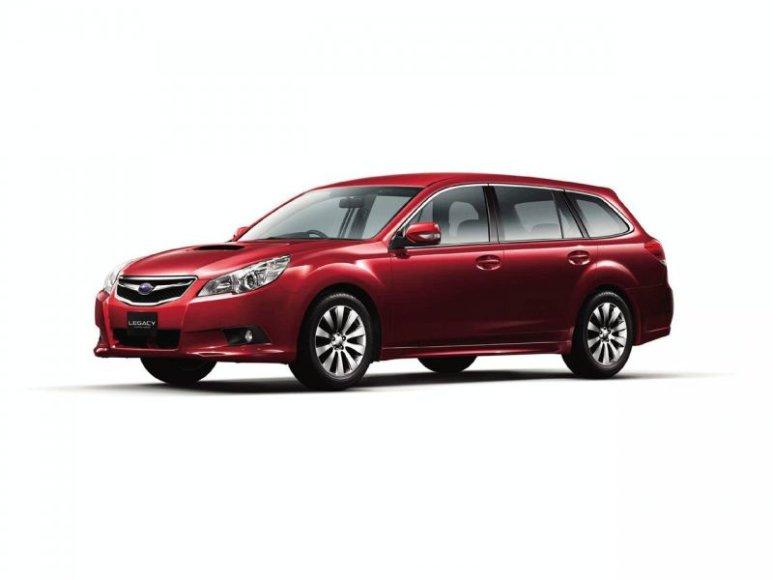 """Ar naujasis """"Subaru Legacy Touring Wagon"""" sužavės pirkėjus?"""