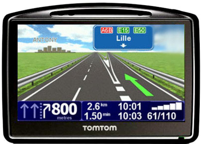 """Automobiliniai GPS imtuvai """"prakalbo"""" kultinio Algio Greitai personažo balsu"""