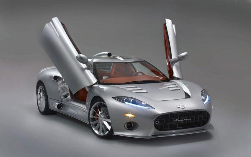 """Ženeva 2009: """"Spyker C8 Aileron"""" iš prototipo virto realybe"""