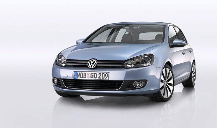 """Naujasis """"Volkswagen Golf VI"""" - pirmosios nuotraukos"""