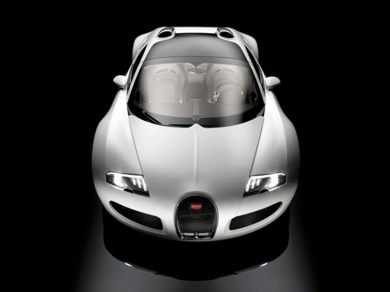 """""""Bugatti Veyron Grand Sport"""" – dar daugiau išskirtinumo"""