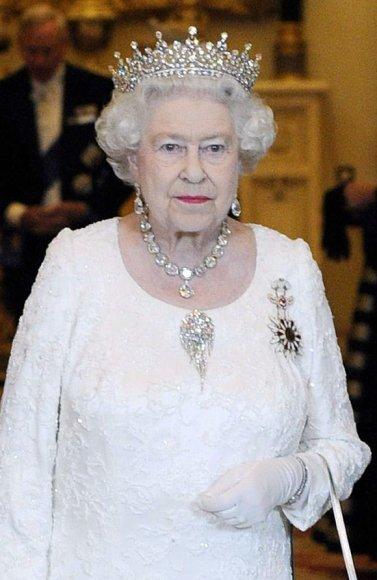 Didžiosios Britanijos karalienė Elizabeth II (2011 m.)