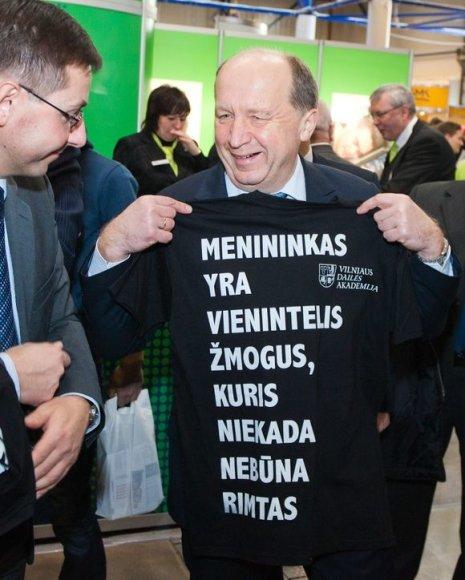 Gintaras Steponavičius ir Andrius Kubilius
