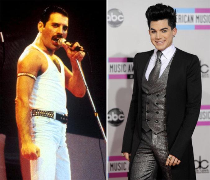 Freddie Mercury ir Adamas Lambertas