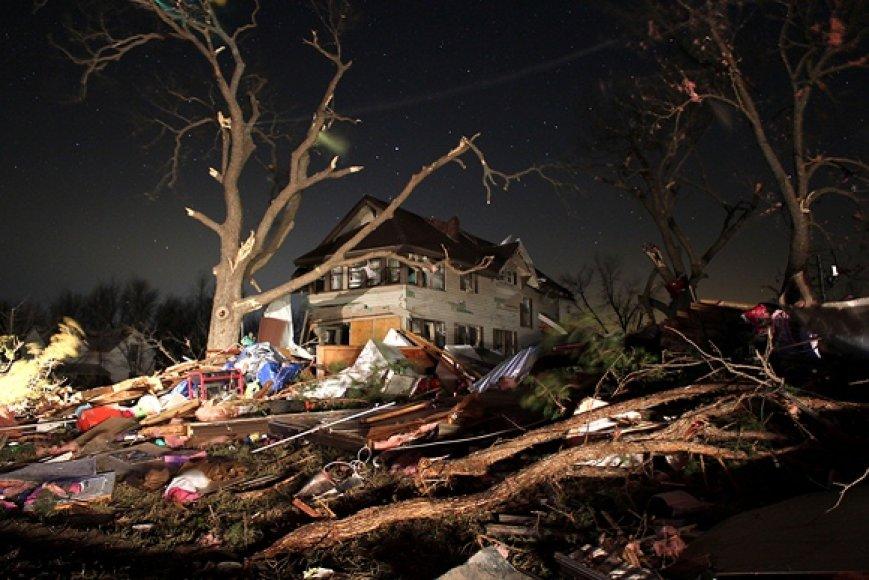 Tornado padariniai