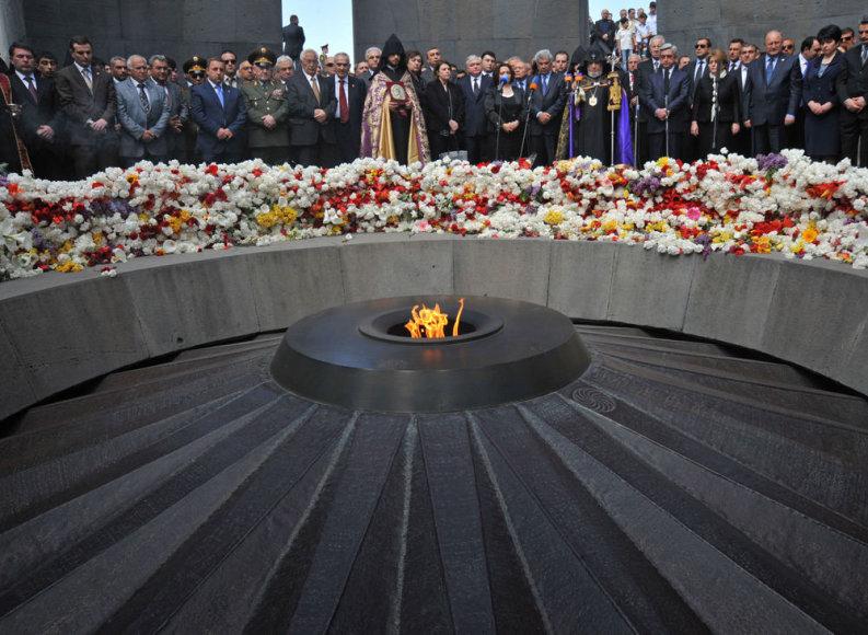 Armėnijoje minimos tautos genocido metines