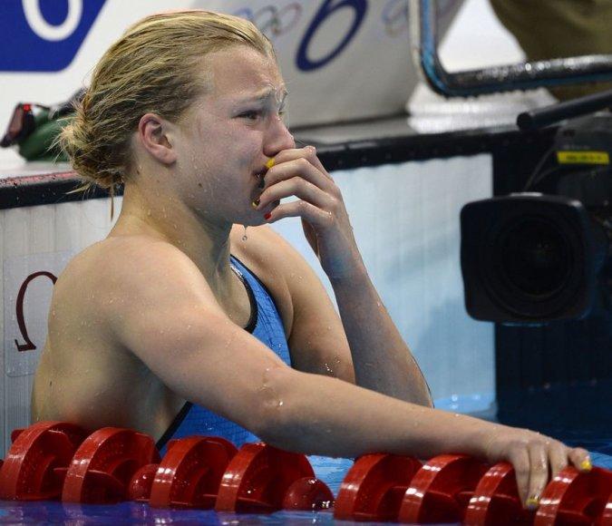 Lietuvos plaukikė Rūta Meilutytė