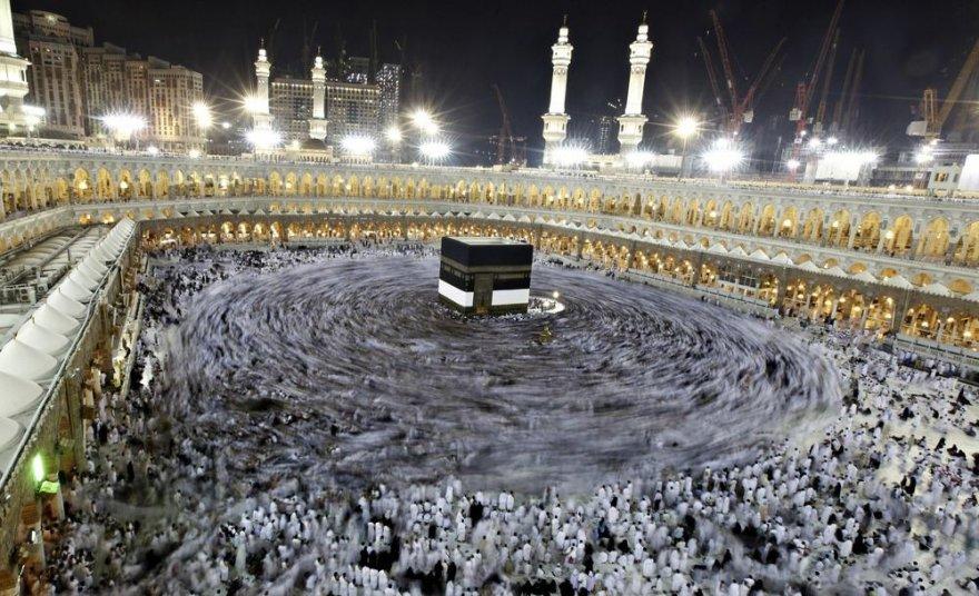 Musulmonų piligrimai Mekoje