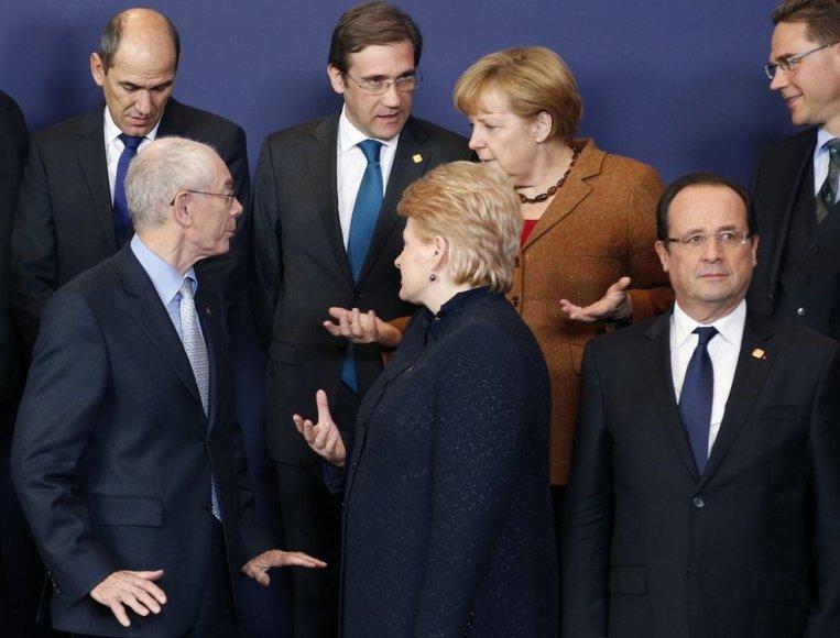 Europos lyderiai ruošiasi bendrai nuotraukai