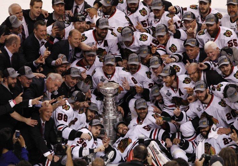 """Čikagos """"Blackhawks"""" ledo ritulio komanda"""