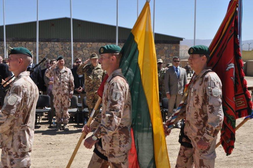 PAG stovyklos perdavimo ceremonija