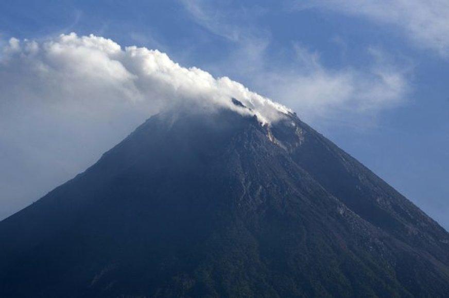 Mount Merapi ugnikalnis