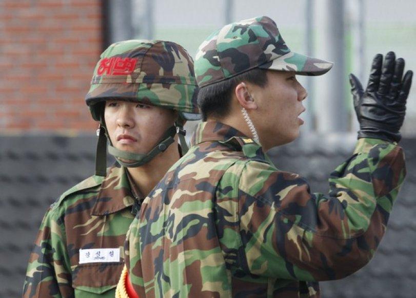 P.Korėjos kariai