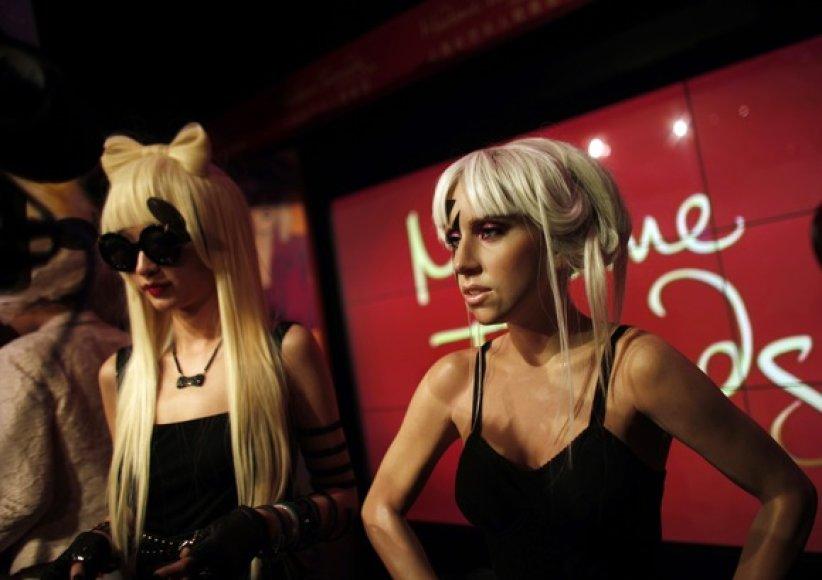 Lady Gaga vaškinė figūra