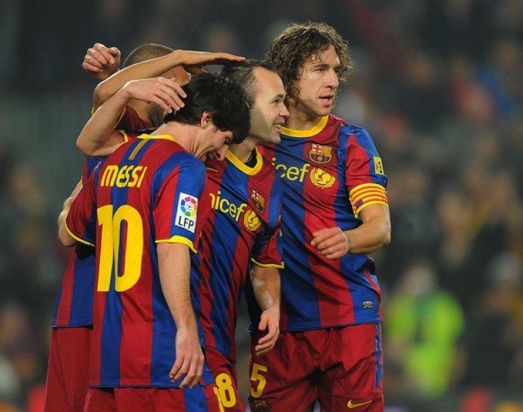 """""""Barcelonos"""" žaidėjai yra žemiausi Europoje"""