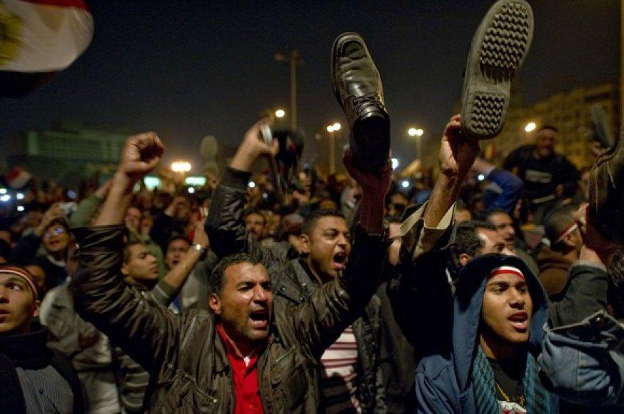 Protestuotojai