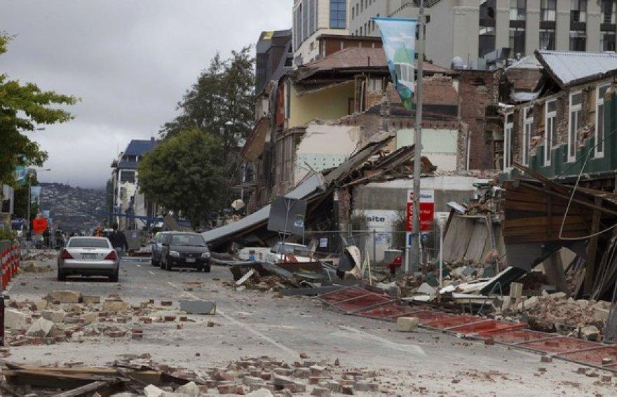 Žemės drebėjimo padariniai Naujojoje Zelandijoje