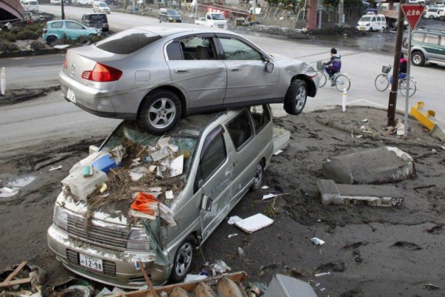 Automobiliai Miyako mieste