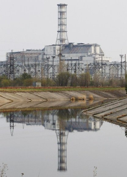 Černobylio atominė elektrinė (2011 balandžio 26 d.)