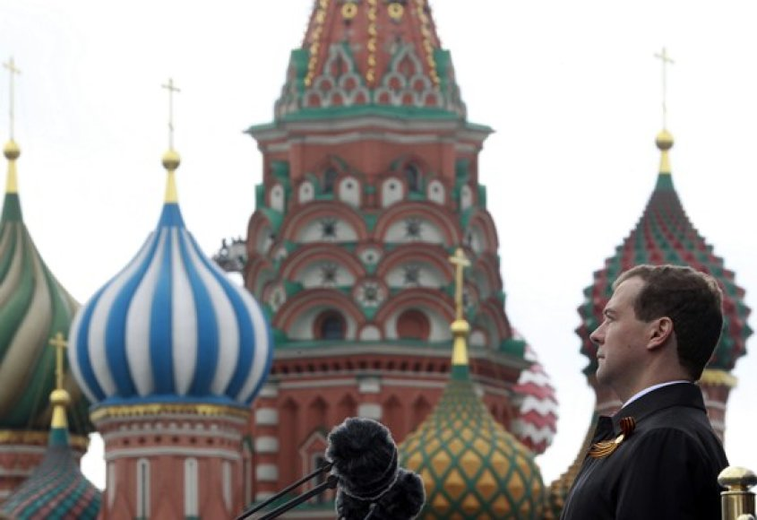 Rusijos prezidentas Dimitrijus Medvedevas